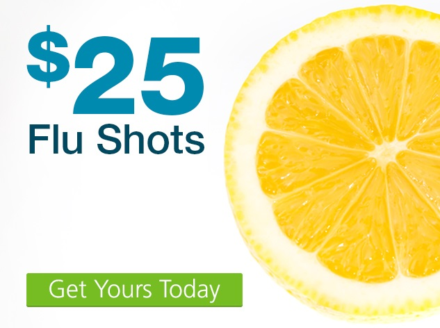 $25 Flu Shot Coupon