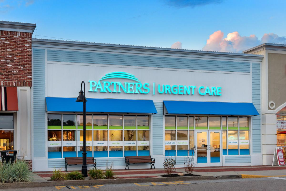 partners urgent care | canton, ma