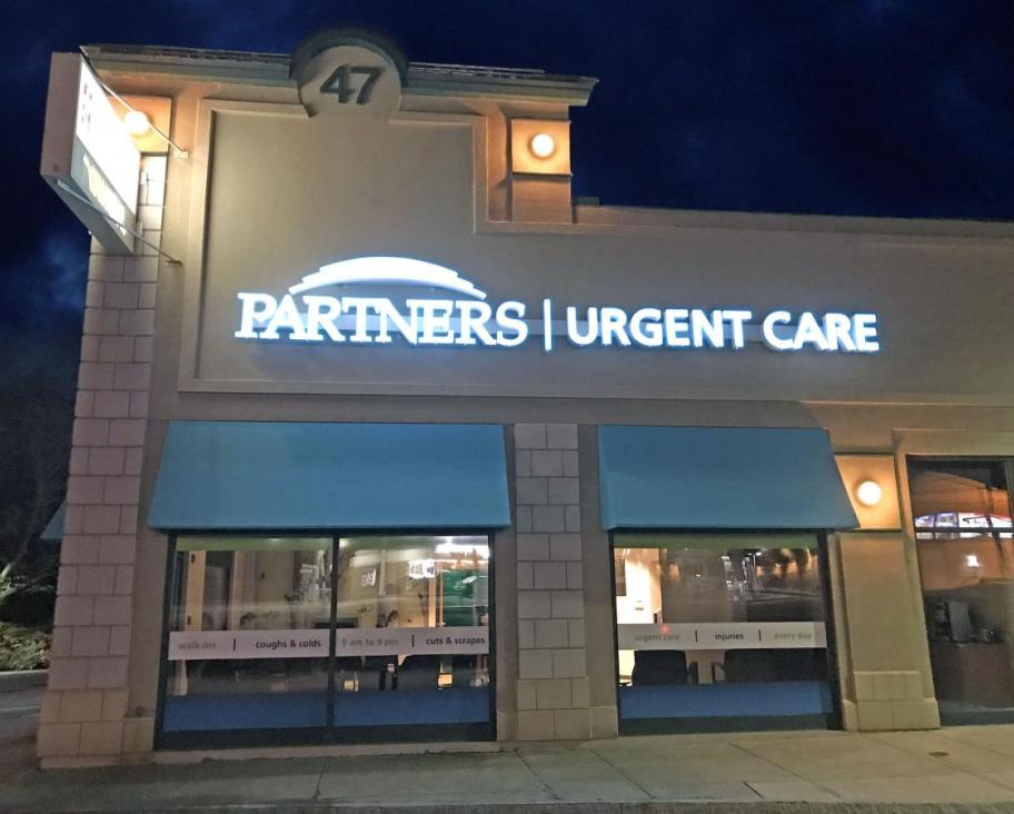 Partners Urgent Care in Burlington, MA Open Every Day