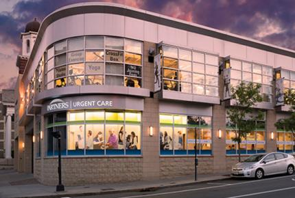Free Parking is available at Partners Urgent Care in Brookline, MA