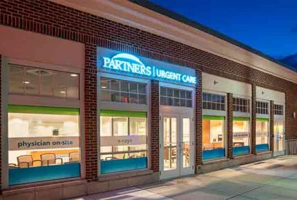 Partners Urgent Care in Watertown Square.